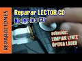 Reparar Reproductor CD DVD. No lee los CD. CD player repairing