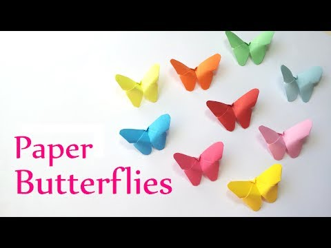 יצירת פרפרים - קישוט קל