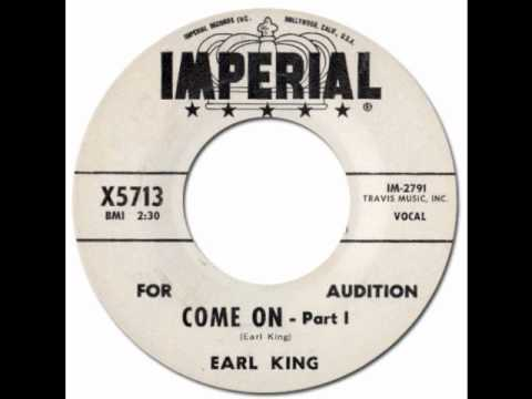 Come On - Earl King [Imperial 5713] 1960 * New Orleans R&B