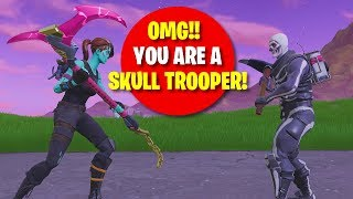"I MATCHED WITH A SKULL TROOPER!! ""He Got 0 KILLS!"""