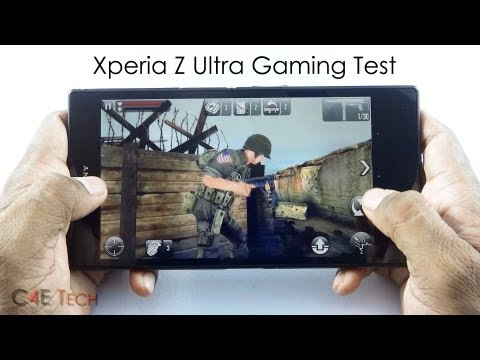 Sony Xperia Z Ultra Gaming Review - Real Racing 3. Iron Man 3.Despicable Me - Minion Rush & More