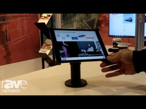 Integrate 2016: Atdec Exhibits Its Range of Tablet Mounting Solutions