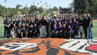 RPD Pistols vs RSO Renegades Charity Flag Football Game Footage- March 21, 2015
