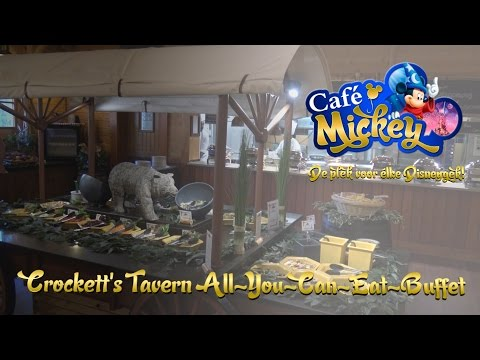 [2016] Davy Crockett Ranch - Crockett's Tavern All-You-Can-Eat-Buffet - Disneyland Paris