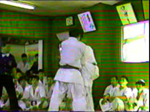 Part1: Kyokushin Karate Fighting (Kumite) by Kancho Matsui Image 1