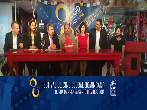 Rueda Prensa Festival de Cine Global Dominicano