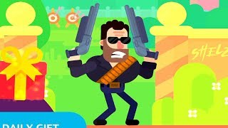 Bowmasters - T-666 Terminator (Shotgun) - TOURNAMENT NORMAL - Gameplay Walkthrough (119)
