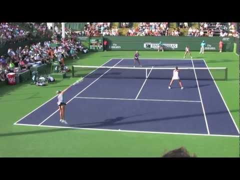 Goerges/Lisicki vs Hlavackova/Hradecka [3] - 2012 BNP Paribas Open
