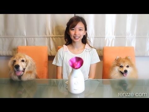 Hydrating Home Facial with Panasonic Ionic Facial Steamer EH-SA31