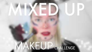 The Mixed Up Makeup Challenge