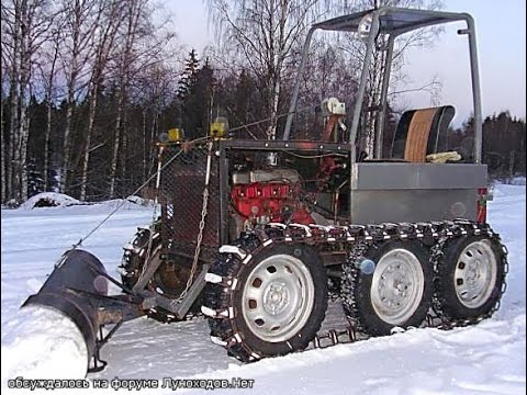 Гусеничный трактор своими руками в домашних условиях