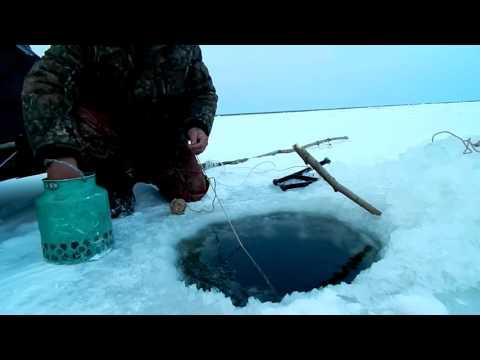 как подготовить сеть для рыбалки видео