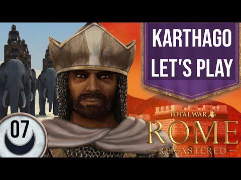 Total War: ROME REMASTERED | Karthago | Kurze Kampagne | 07 | Let's Play | deutsch