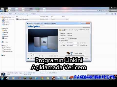 Boilsoft Video Splitter İle Video Kesme + (download İndir) video