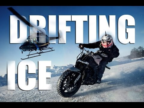 Extreme Motorcycle Drifting On Ice - Jorian Ponomareff