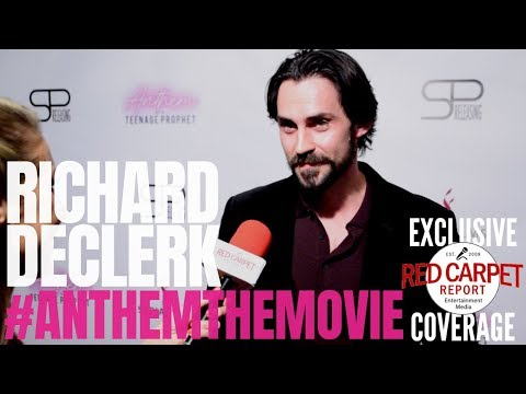 Richard DeClerk Interviewed At Premiere Of Anthem Of A Teenage Prophet #anthemthemovie #NowPlaying
