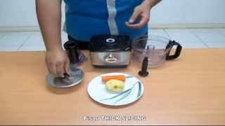 Vienta Food Processor Fungsi Thick Slicing