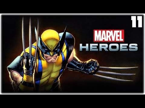 Lets Play Marvel Heroes #11 - Der Ladescreen - German Gameplay