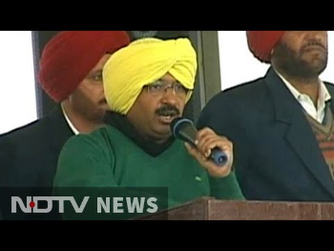 Yellow turban and trending hashtag as Arvind Kejriwal begins bid for Punjab