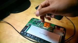 como reparar tablet  que no prende y no carga