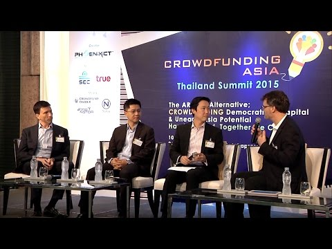 CrowdFunding Asia 2015 – Open Panel