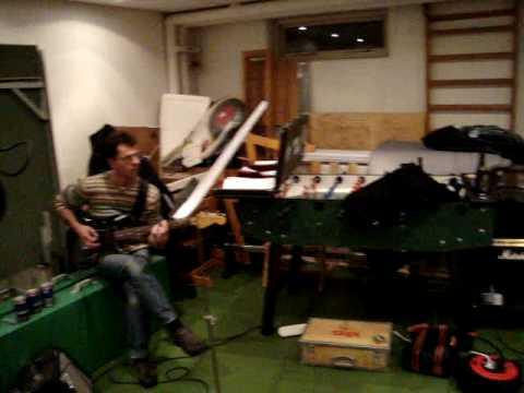 Øveaften i 'Jan Birk Band Uden Jan'
