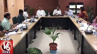 IT Minister KTR Holds Review Meet On Mission Bhagiratha Urban Works