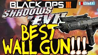 BEST Wall Weapon/Gun in Shadows of Evil Black Ops 3 Zombies! (TOP Guns in BO3 Zombies)