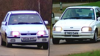 Vauxhall Astra GTE vs Ford Escort: