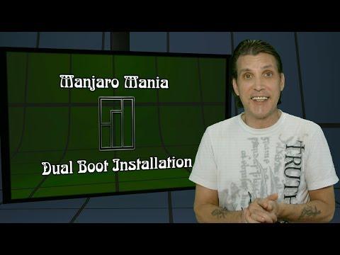 Manjaro Mania ::: Dual Boot Install