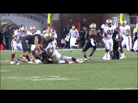 Boston College Football 2008: BC EAGLES at FSU Video