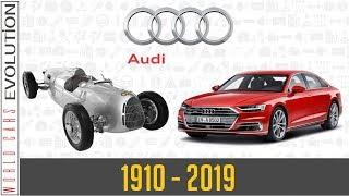 Audi Evolution (1910 - 2019)