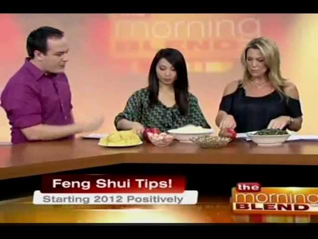 "Feng Shui Tips for 2012 & Learn about ""lucky"" foods!"