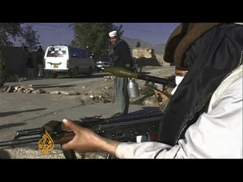 Pakistan Begins South Waziristan Offensive - 17 Oct 09 video