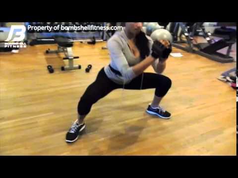 Bombshell Fitness - Sumo Squat