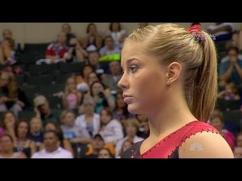 Shawn Johnson impresses on Balance Beam