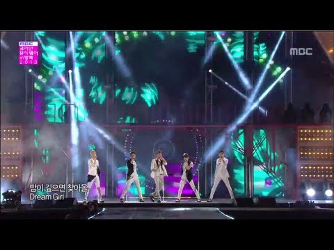 [130406] Shinee - Beautiful + Dream Girl  Mbc Korean Music Wave In Bangkok 2013 [720p] video