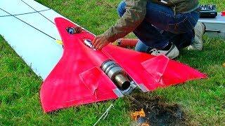 FASTEST RC TURBINE MODEL JET IN ACTION 727KMH 451MPH FLIGHT DEMO GUINNESSWORLDRECORDS