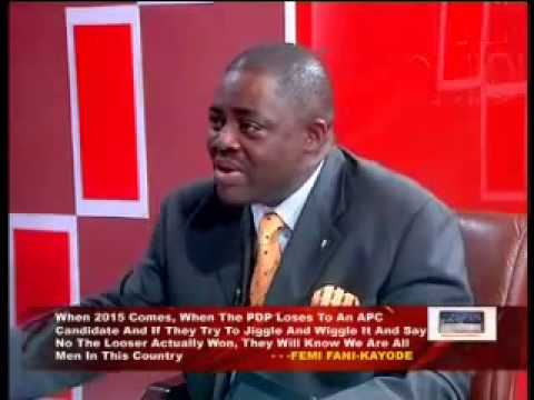 VIDEO: Goodluck Jonathan and Evil PDP Rigging Machine Will Fail in 2015 Femi Fani-Kayode