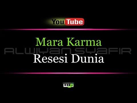 Karaoke Mara Karma - Resesi Dunia