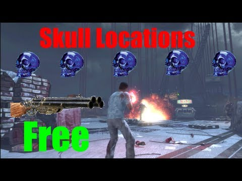 Mob of The Dead All Skull Locations in Black Ops 2 | Free Blundergat
