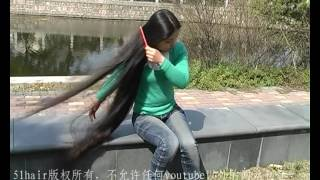 Chinese traditional head-shave in country