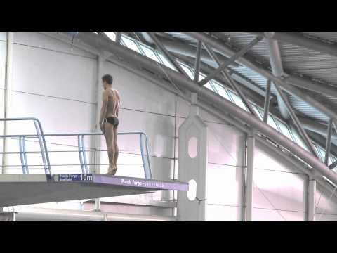 2012 British Championships - Tom Daley 10M Dives