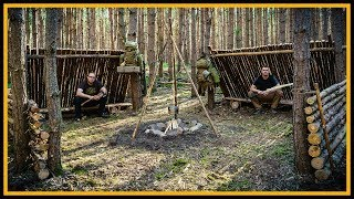 Bushcraft Camp: Super Shelter - Lagerbau Bushcraft - Primitive Technology