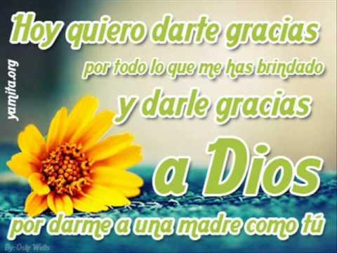 Feliz Dia De Grasias >> Gracias Mama: Rossy War... - YouTube