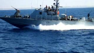 Israeli navy arrives in eilat with iranian missile ship