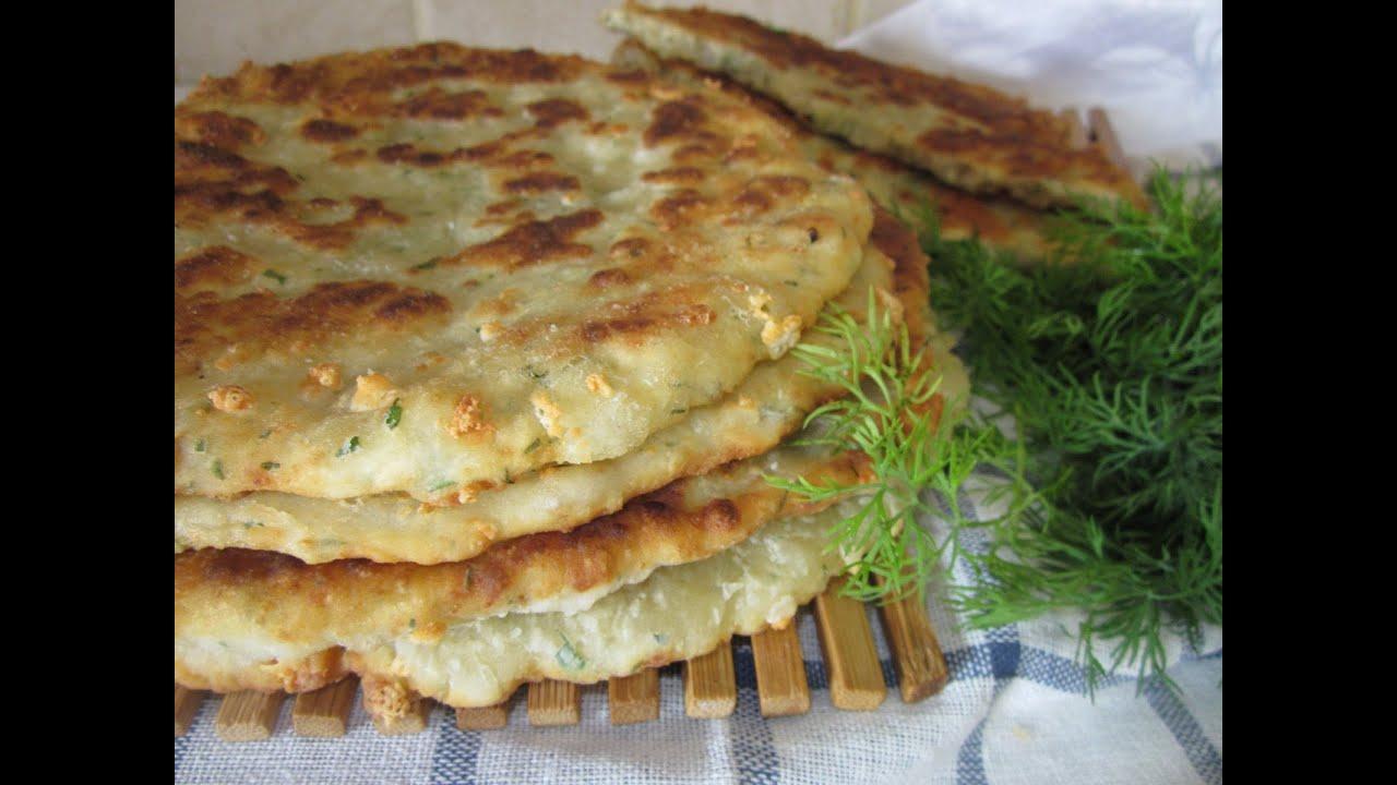 Рецепт сырной лепешки в домашних условиях