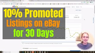 I Just Tested 10% Promoted Listings on eBay for 30 Days
