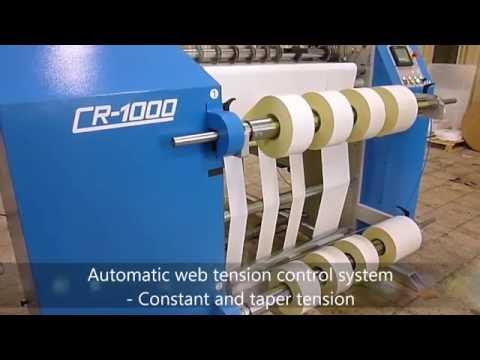 Lemorau CR 1000 slitter rewinder machine