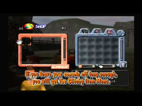 Dark Cloud (PS2) Glitchy Item Menu Trigger